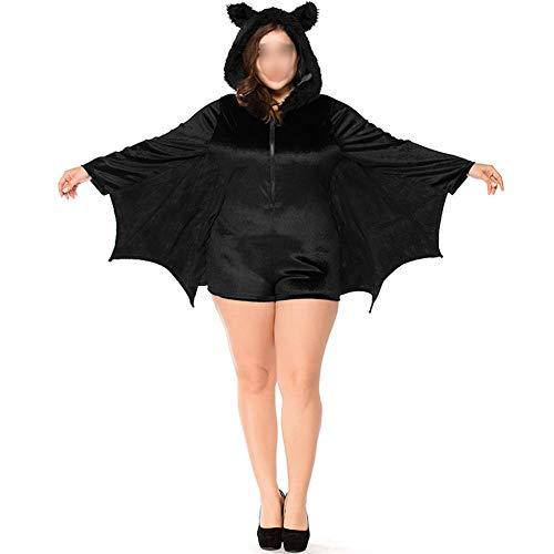 Zhuhaixmy Halloween Kostüme - Kind Erwachsene Gemütlich Fledermaus Overall Vampir Dämon Cosplay Kostüm Mädchen Frau Familie Party