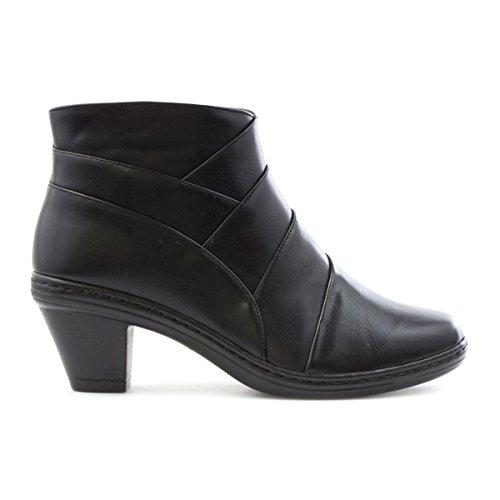 Cushion Walk, Bottes pour Femme Noir
