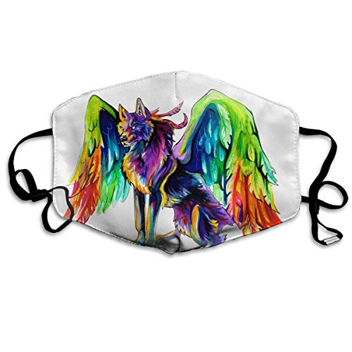Anti-Staub-Maske mit Flügeln, gegen Verschmutzungen, waschbar, wiederverwendbare Mundmasken