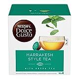 NESCAFÉ DOLCE GUSTO Marrakesh Style Tea Tè Verde Aromatizzato alla Menta, 3 Confezioni da 16 Capsule (48 Capsule)