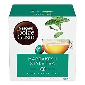 Nescafé Dolce Gusto Marrakesh Style Tea Tè Verde Aromatizzato alla Menta - Confezione da 3 Scatole da 16 Capsule