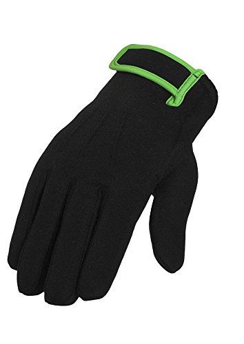 2-tone Sweat Gloves blk/lgr