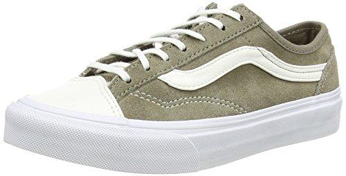 Estilo Vans 36 Magro Unisex-erwachsene Branco Sneaker (tc Couro - Rajado)