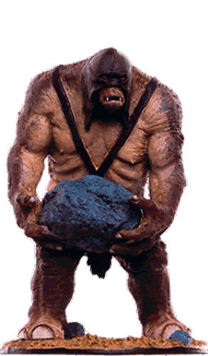 Lord of the Rings Señor de los Anillos Figurine Collection Nº 116 Catapult Troll 1