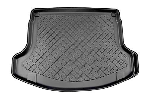 MDM Kofferraumwanne i30 (PD) Fastback CP/5 2017-, Kofferraummatten Passgenaue mit Antirutsch, Passend für rechte Ausbuchtung abschneidbar für kürzere Ausbuchtung, cod. 7707