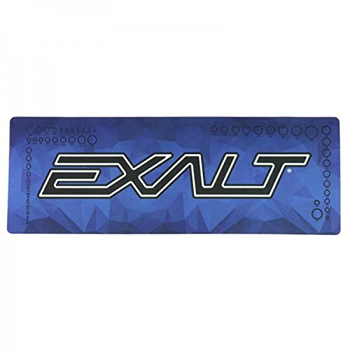 Exalt Tech Mat V2 large, Techmatte, Textured Bottom, blau
