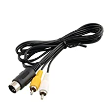 Childhood AV RCA Audio Video TV Adapter Kabel für Sega Genesis 1 Mega Drive Master System