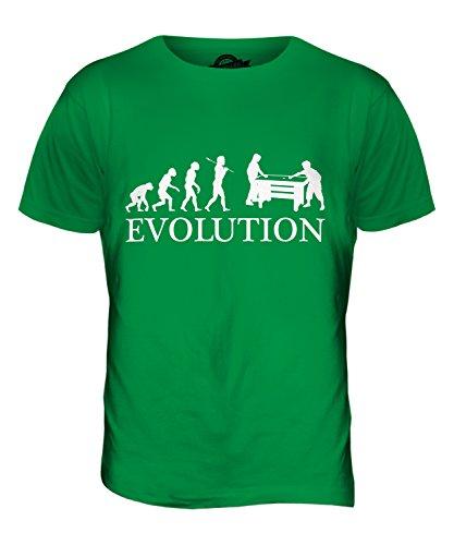 CandyMix Air Hockey Evolution Des Menschen Herren T Shirt Grün