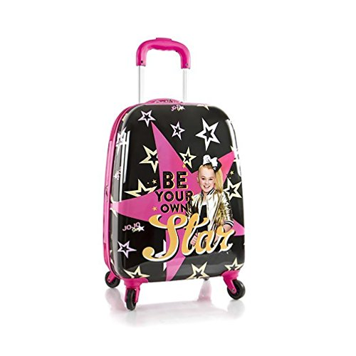 Heys Jojo Siwa Tween Spinner Luggage Case (Expandable Case Packing)