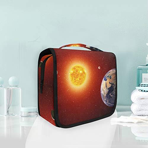 Make-up Kosmetiktasche Art Universe Solar System Tragbare Aufbewahrung Reise Kulturbeutel -