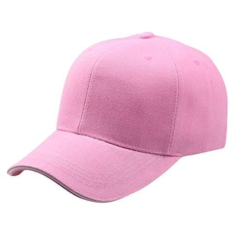 IZHH Frauen Männer Baseball Cap Solid Color Keine Druck Snapback Hut Hip-Hop einstellbare Casual Caps - Gucci Cap Hut