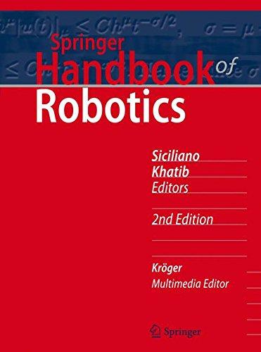 Springer Handbook of Robotics (Springer Handbooks)