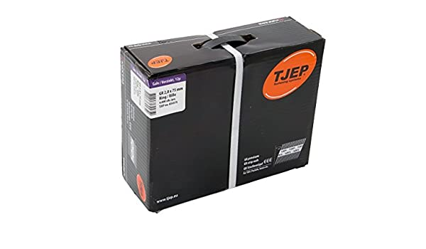 TJEP GF 28//63 Streifenn/ägel 34/° Rillen Verzinkt Maxibox
