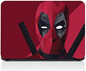 GADGETS WRAP Deadpool Laptop Decal for 15.6 inch Laptop 15x10