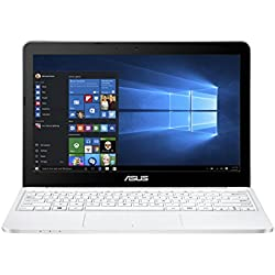 Asus E200HA-FD0041TS 29,4 cm (11,6 Zoll) Notebook (Intel Atom X5-Z8350, 2GB RAM, 32GB eMMC, Intel HD-Grafik, Win 10 Home) weiß