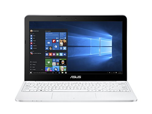 Asus E200HA-FD0041TS 29,4 cm (11,6 Zoll) Notebook (Intel Atom X5-Z8350, 2GB RAM, 32GB eMMC, Intel HD-Grafik, Win 10 Home) weiß DE