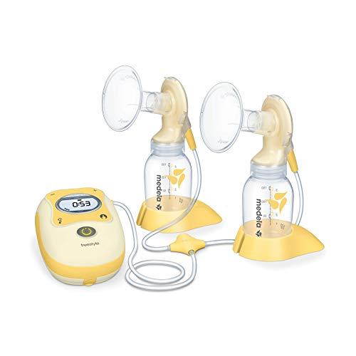 Sacaleches eléctrico doble Freestyle Medela, extractor de leche con pantalla digital portátil