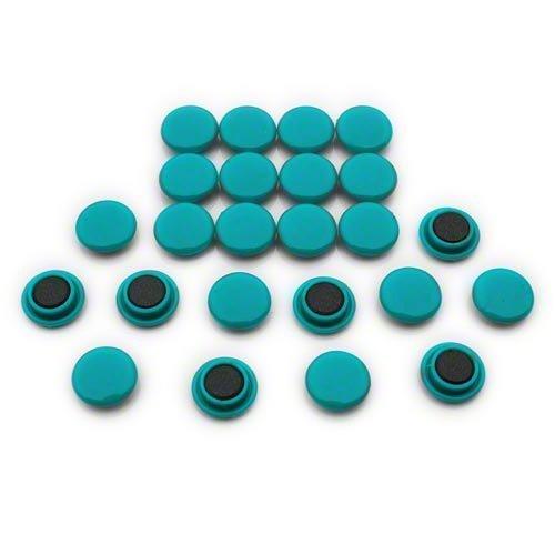 Magnet Expert® Petit planification/avis planche aimants, vert, 1 pack de 24
