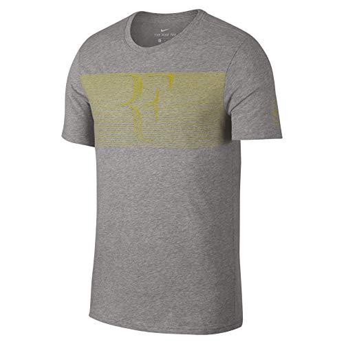 Nike Herren Roger Federer T-Shirt Men grau, XS gebraucht kaufen  Wird an jeden Ort in Deutschland