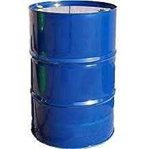 Baril, fût, tonneau à bonde métallique, bleu, 216 L (23015)