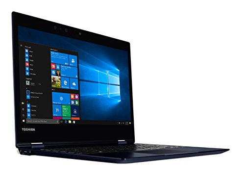 Toshiba 12 5-Inch LED Notebook -  Black   Intel Core i5-7200U 2 5 GHz Processor  8 GB RAM  256 GB SDD  Intel HD Graphics 520 Card  Windows 10 Pro