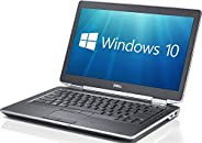 Dell Latitude E6430 14.1in Core i5-3320M 8GB 128GB SSD DVDRW WiFi Windows 10 Professional 64-Bit Laptop (Renew