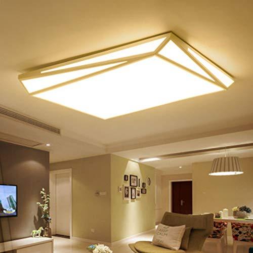 YBZS Warmes Licht/Weißes Licht Optional LED Wohnzimmer-Lampen-Beleuchtung Deckenlampe, Geeignet Für Schlaf- / Wohnzimmer/Küche (93 * 61 cm),A