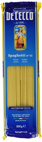 De Cecco - Spaghetti - confezione da 4 ( 4 x 500 g)