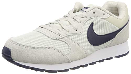 4b1a7b5ab3ccd Nike MD Runner 2 Shoe Zapatillas de Running, Unisex niños, Gris (Light  Bone/Obsidian 009), 44 EU