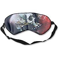 Sleep Eye Mask Oil Skull Abstract Lightweight Soft Blindfold Adjustable Head Strap Eyeshade Travel Eyepatch E4 preisvergleich bei billige-tabletten.eu