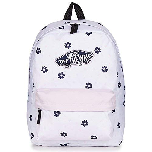 93473243 Vans Realm Backpack Zaini Donne Bianco Unica - Zaini