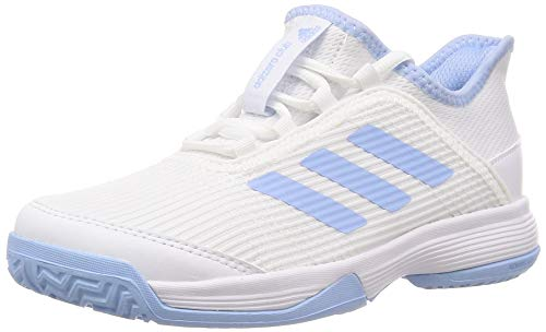 Adidas Adizero Club K, Zapatillas de Tenis Unisex Adulto, Azubri/Ftwbla 000, 39 1/3 EU