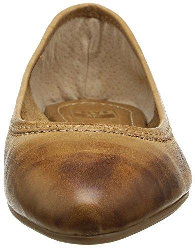 Frye Regina Ballet, Zapatos Con Cordones Mujer Beige (cam)