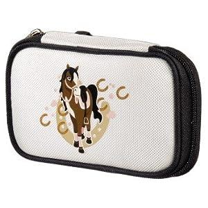 """Nintendo DS lite – Tasche """"Horse"""", Weiß"""