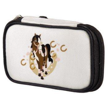 """Nintendo DS lite - Tasche """"Horse"""", Weiß"""