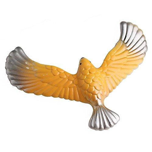 Dapei Amazing Balancing Eagle mit Pyramidenständer Magic Bird Schreibtisch Spielzeug Spaß Lernen Kinder Geschenk