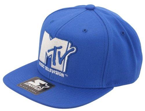 mtvstartermt001-icon-logo-snapback-capblue-white-sizeone-size-fits-all