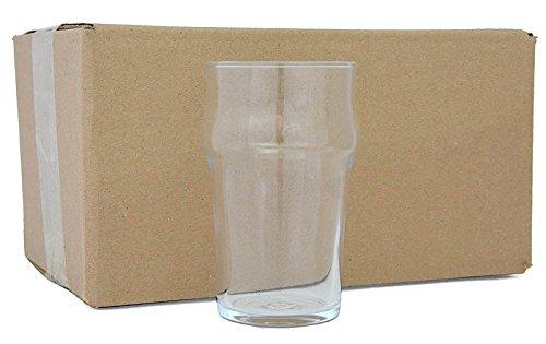 Nonic Bier- oder Cider-Gläser Half Pint, 6er-Pack Glas Pint Glas