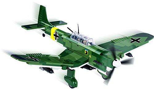 Modbrix 5521- ✠ Bausteine STUKA Flugzeug Junkers Ju 87 B inkl. Luftwaffen Pilot aus original Lego® Teilen ✠ - 2