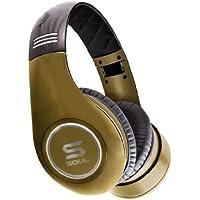 Soul by Ludacris SL300 Elite HD-Noise-Cancelling Kopfhörer gold/schwarz