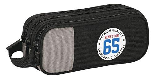 Benetton – Portatodo triple, color negro (Safta 811606635)