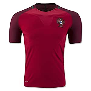 2016 2017 UEFA Euro Cup Portugal Home National Football Soccer Jersey in in rot