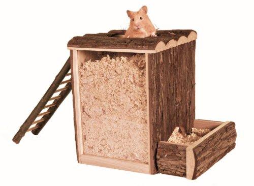 Trixie 62002 Natural Living Spiel- und Buddelturm, 25 × 24 × 20 cm