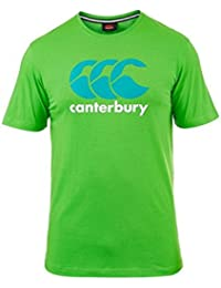 CANTERBURY Men's CCC Logo T-Shirt, Green/White, XL
