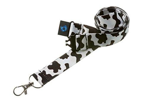 Schlüsselband mit Sicherheitsclip-Kuh ()