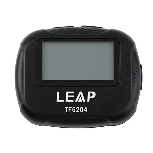 Appearantes Interval Timer Sports Crossfit Boxing Yoga Segment Stopwatch TF6204 Black Interval Timer Chronograph Eletronic