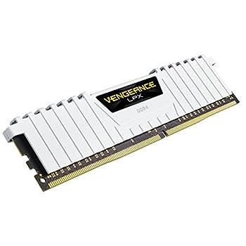 Corsair CMK16GX4M2B3200C16W Memoria RAM da 16 GB, 2 x 8 GB, Nero, 288-pin DIMM