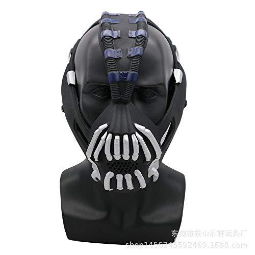 LXIANGP Halloween PVC Maske Maskerade Performance Requisiten Bain Kopfbedeckungen Horror Zombie Teufel ()