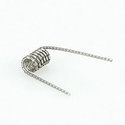 DIY-24H - 10x Tiger Coils Wire Prebuilt Fertigwicklung RDA RBA RTA Kanthal A1 Draht von DIY-24H