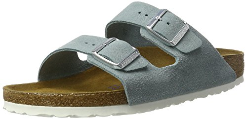 Birkenstock Arizona, Ciabatte Donna, Blu (Light Blue), 37 EU